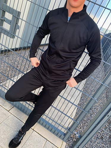 Agility Full Zip-up - Black