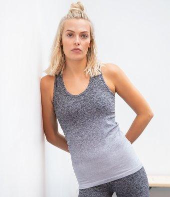 Zen Seamless Vest - Grey