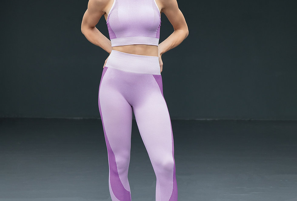 Agile Seamless Leggings - Light Pink
