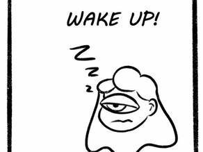 Waking Up is Hard! Comic
