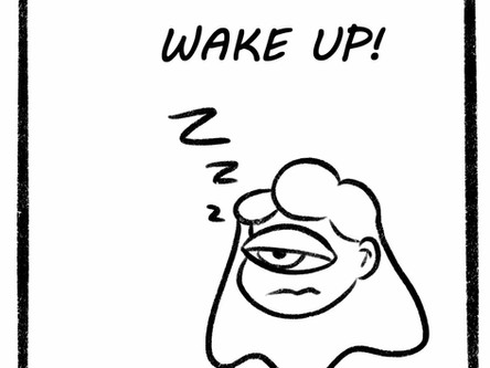 Waking Up is Hard! Comic
