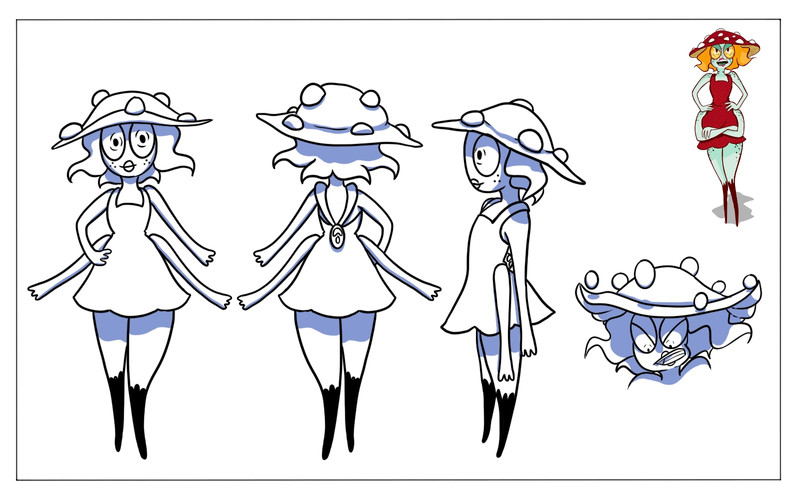 Characters_Mushroom Red sheet