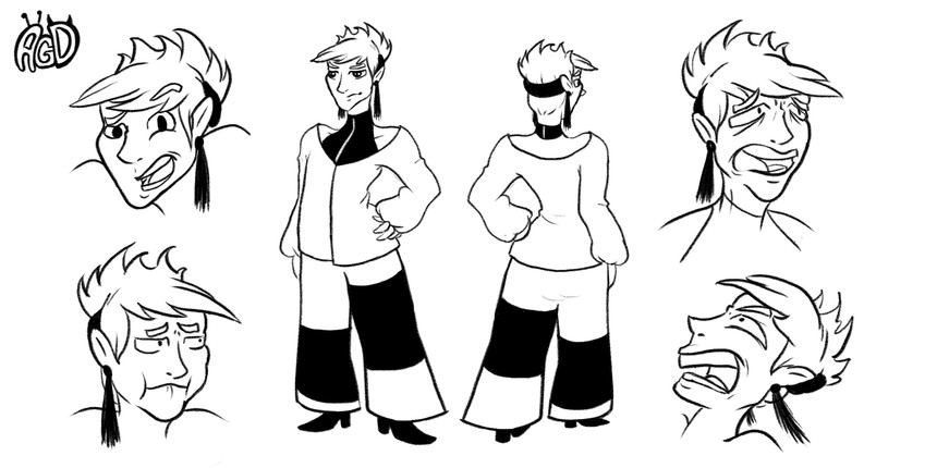 AGD  character design