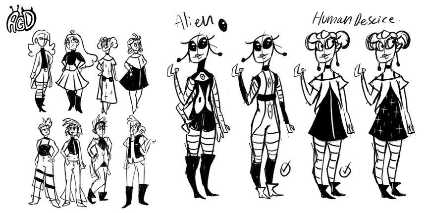 AGD  character IDEAS