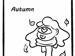 Comic of the seasons Autumn
