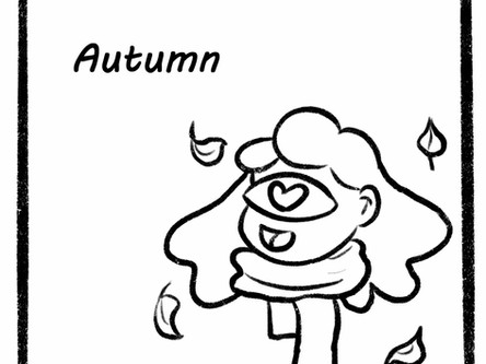 Comic of the seasons Autumn