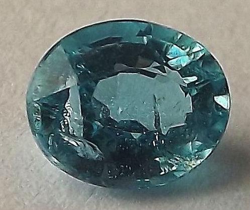 Apatita Paraíba Azul Natural - 7.5 x 6.0mm - Oval - 1.45 Ct
