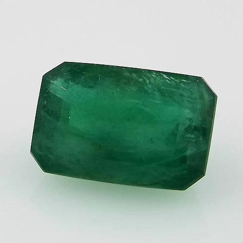 Esmeralda 100% Natural Verde Intenso - 16.30 x 10.88mm - 10.80 Cts
