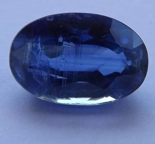 Safira Azul Do Nepal - 5,39 Cts - 12.54 x 8.32mm - Cianita Extra