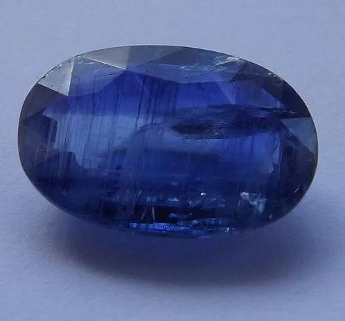 Safira Azul Do Nepal - 5,55 Cts - 14.22 x 9.58mm - Cianita Fina