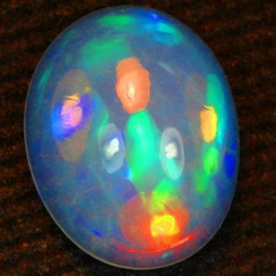 Opala Natural Top Paleta De Cores Neon C/ 2.20 Cts