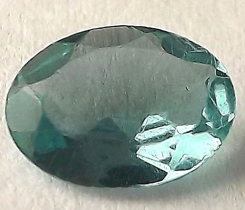 Apatita Paraíba Natural - 7.80 x 5.80mm - Oval C/ 0.96 Ct