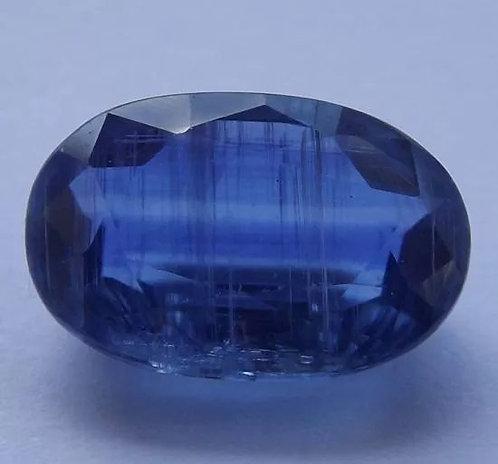 Safira Azul Do Nepal - 5,45 Cts - 12.80 x 8.46mm - Cianita Extra