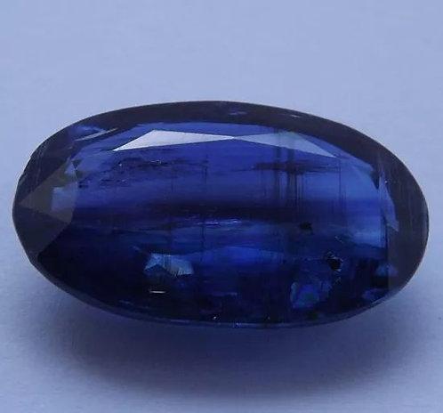 Safira Azul Do Nepal - 8,70 Cts - 17.78 x 10.94mm - Cianita Fina