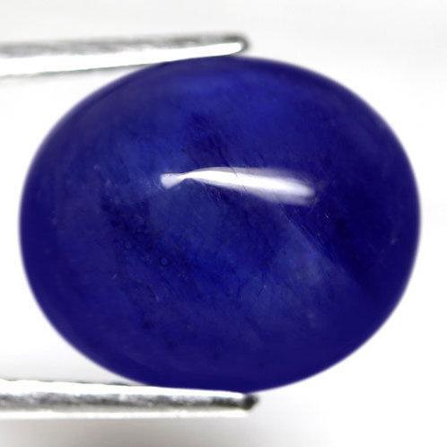 Safira Azul Genuína Cabochon - 9,92 Cts