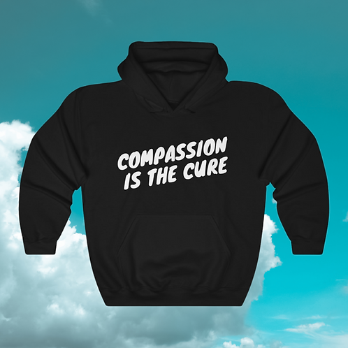 #KYP Collection: Compassion is The Cure Unisex Hooded Sweatshirt