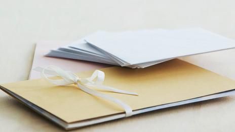 Maulwürfe: Schreib mal wieder einen Brief