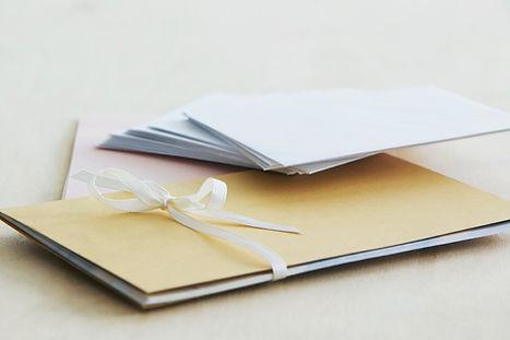Écrire des lettres