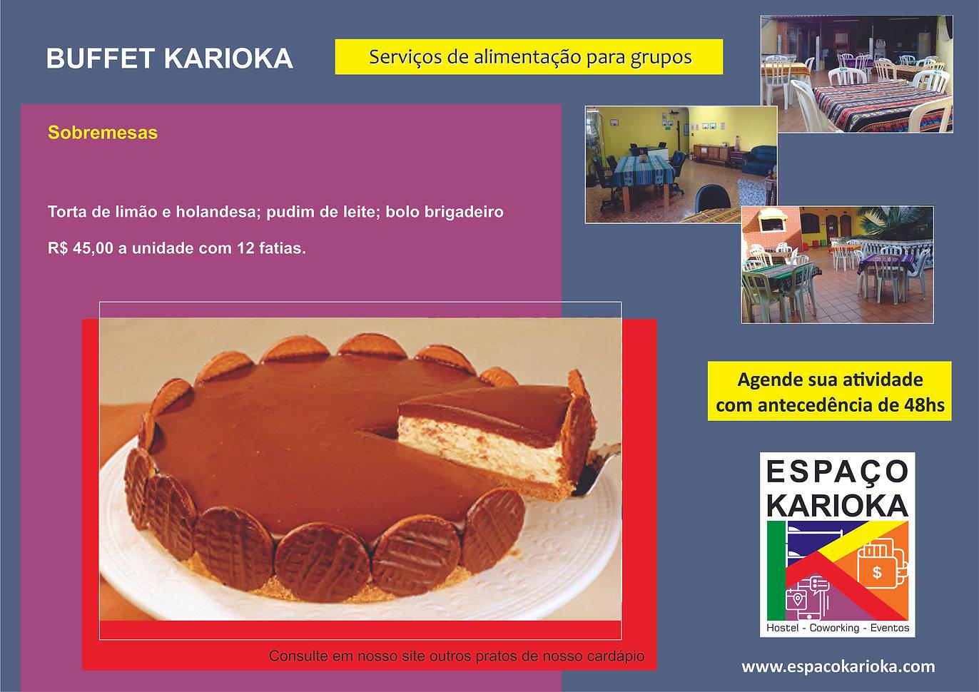 Promocional Buffet Karioka post dos prat
