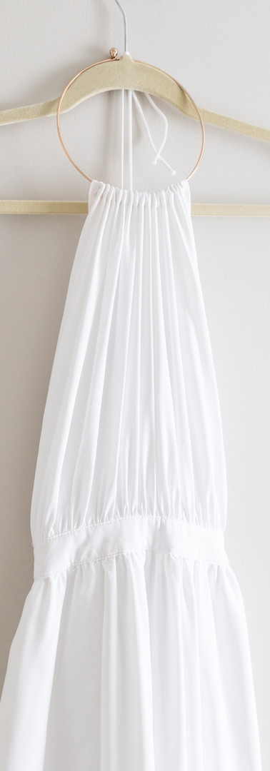 Size M/L White Hatler Maxi Dress