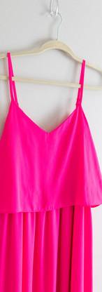 Size L Hot Pink Maxi Dress