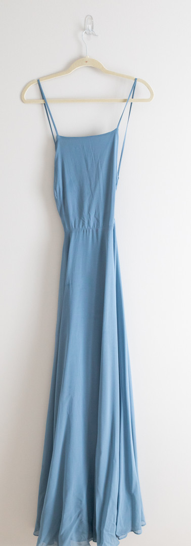 Size L/XL Dusty Blue Gown