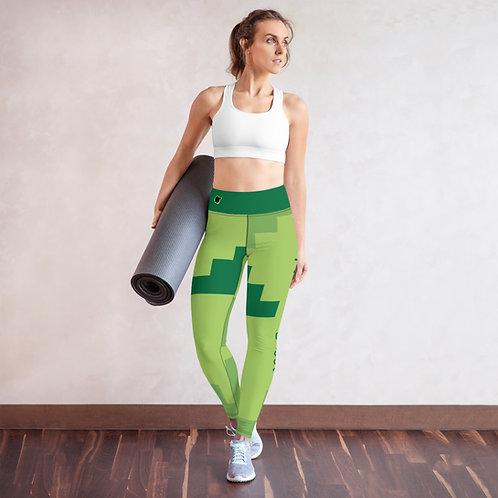 Yoga Leggings Green