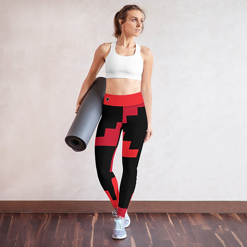 Yoga Leggings Red