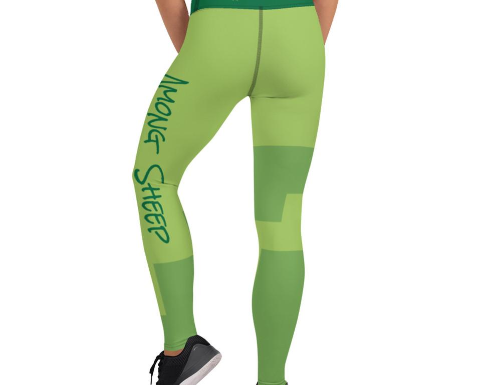 AWolf Green and Green Yoga Pants