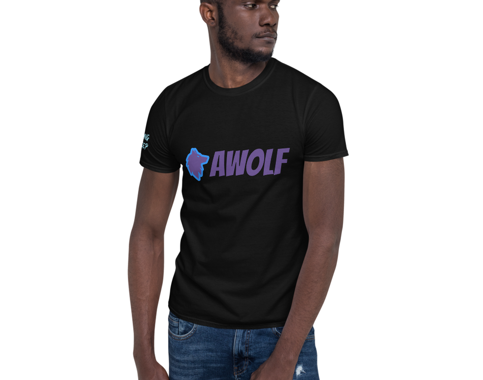 Black and Purple and Blue TShirt