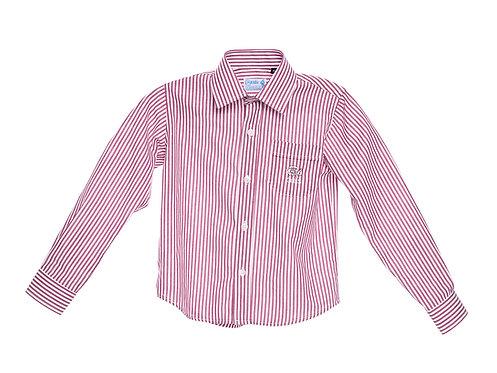 Camisa de riscas Rapaz - Queen Elizabeth's School
