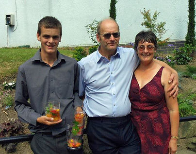 Andrew, Paul and Kate Langthorne