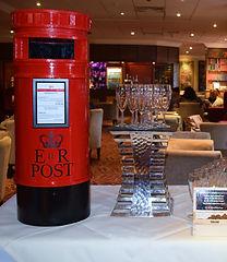 Red, Replica Mail Postbox For Hire Preston Lancashire