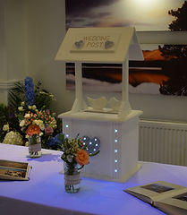 Led Wishing Well Postbox for Hire
