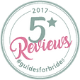 Guides For Brides 5* Reviews Wedding Award 2017