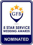 Guides For Brides 5* Service Wedding Award