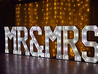 Hire Light up Letter Lights in Preston and across the North West Region of the UK, Lancashire, Manchester, Cumbria, Merseyside, Cheshire