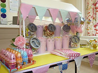 Hire Table Top Sweet Stall