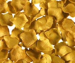 Gold Rose Petals