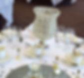 Crystal Hurrican Centrepieces Hire, Preston, Lancashire
