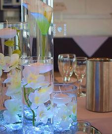 Quad of Vase Table Centrepieces.JPG