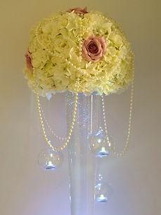 Conical Vase Centrepiece