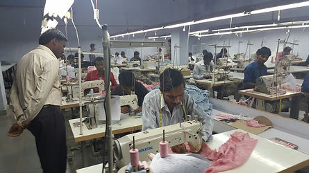Production at J. J. OVERSEAS
