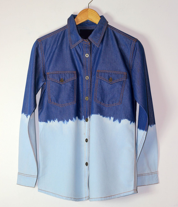 Denim Dyed Shirt