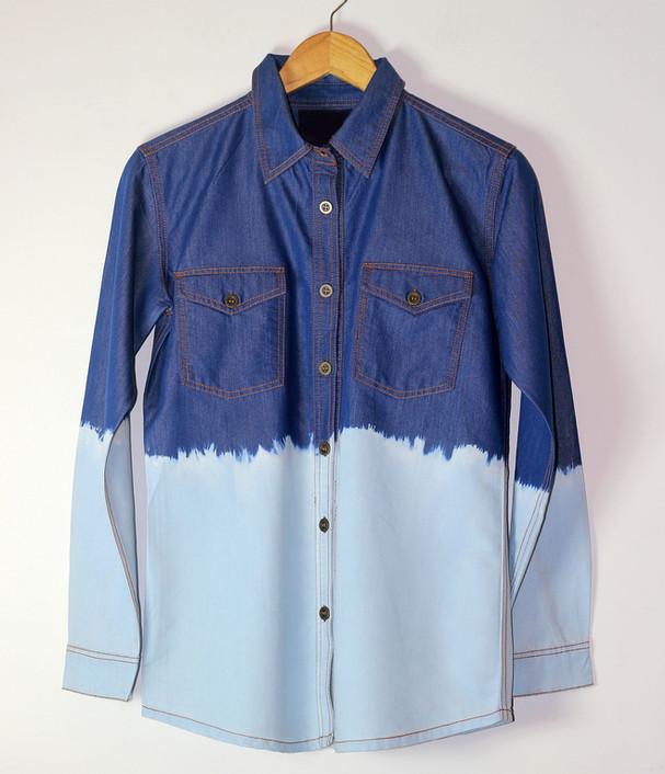 Denim Dyed Shirt