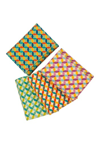 Fabric Printed Pouch Bags