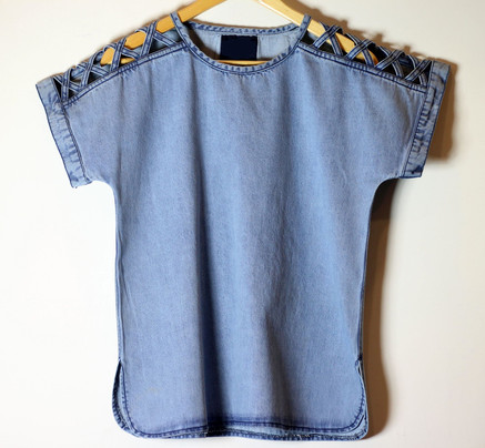 Top with Cut work