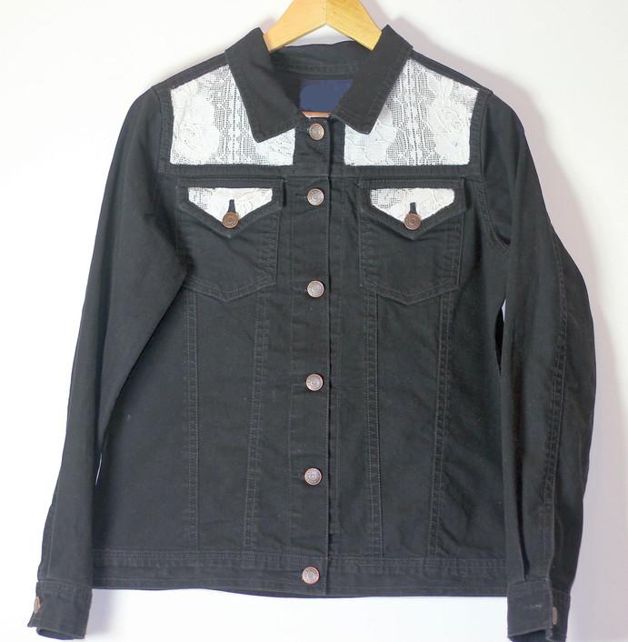 Denim Shirt with Net