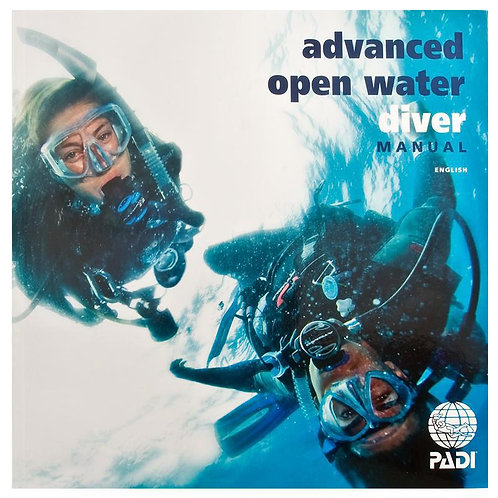 PADI Advanced Open Water Manual with Data Carrier