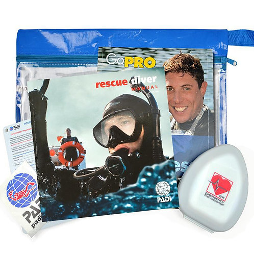PADI Rescue Diver Crew Pack & Pocket Mask